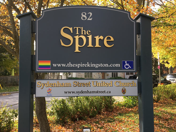 support the spire campaign