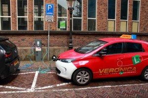 Charge point in Utrecht