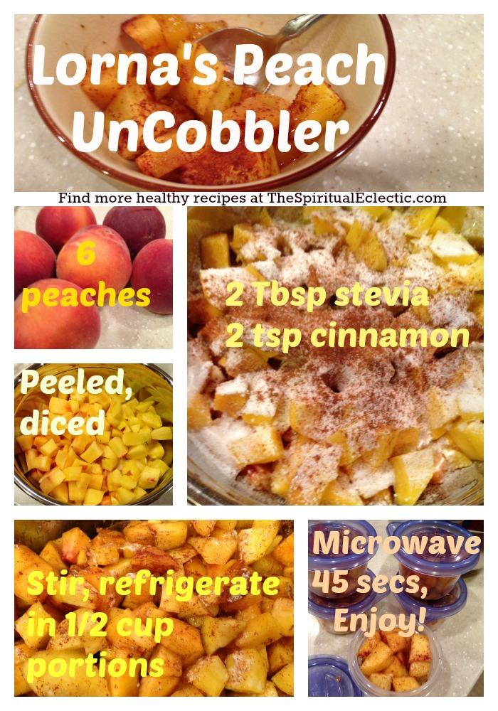 Peach Uncobbler