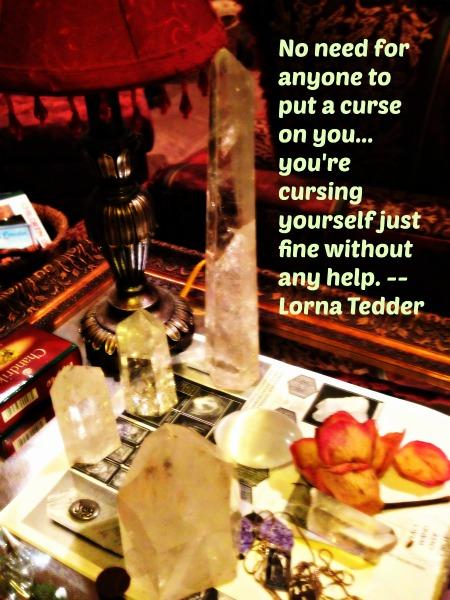 curse someone
