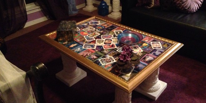Tarot table