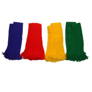 Bisley Garters Set of 4 Different Bright Colours