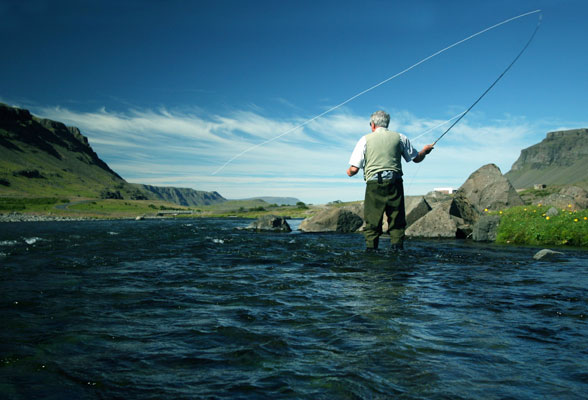 Salmon Fishing Naked (Well Almost) - The Sports Column