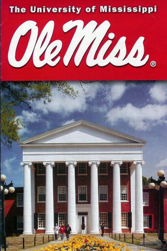 Ole Miss Campus Map Housing Infovisual