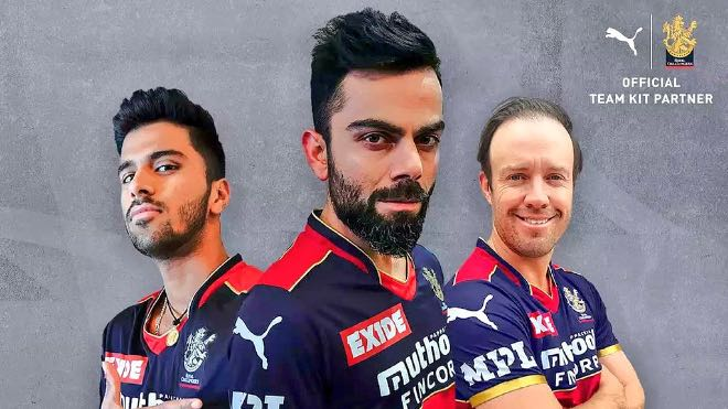 Royal Challengers Bangalore Sponsors and Kit for IPL 2021