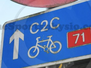 C2C Cycle Route Sign