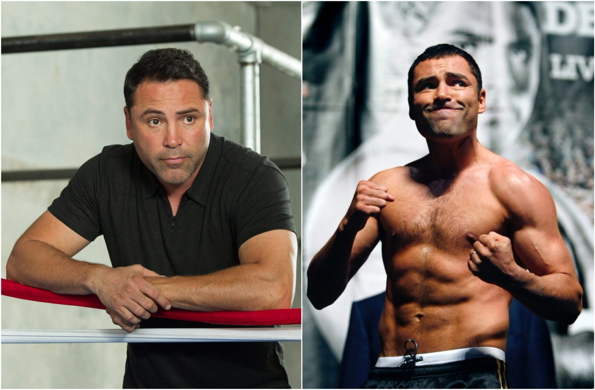 Oscar De La Hoya posts image of ripped physique teasing 154 pound return! - THE SPORTS ROOM