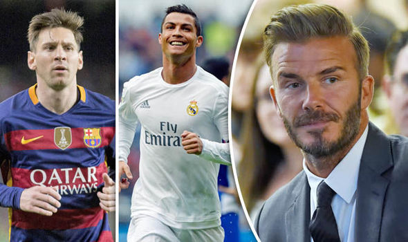 David Beckham reveals who is better: Cristiano Ronaldo or Lionel Messi - THE SPORTS ROOM