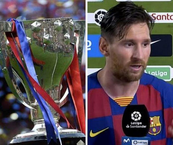 Lionel Messi lambasts Barcelona team after letting La Liga title slip - THE SPORTS ROOM