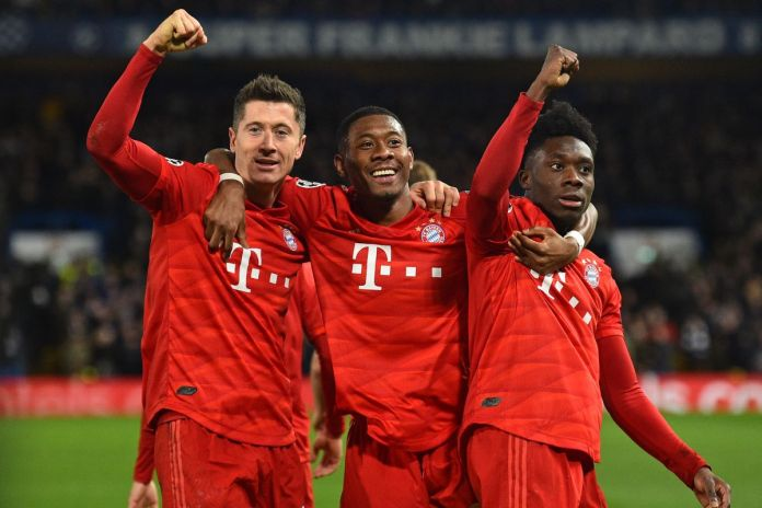 Bayern Munich will be looking to win their first CL title since 2013.