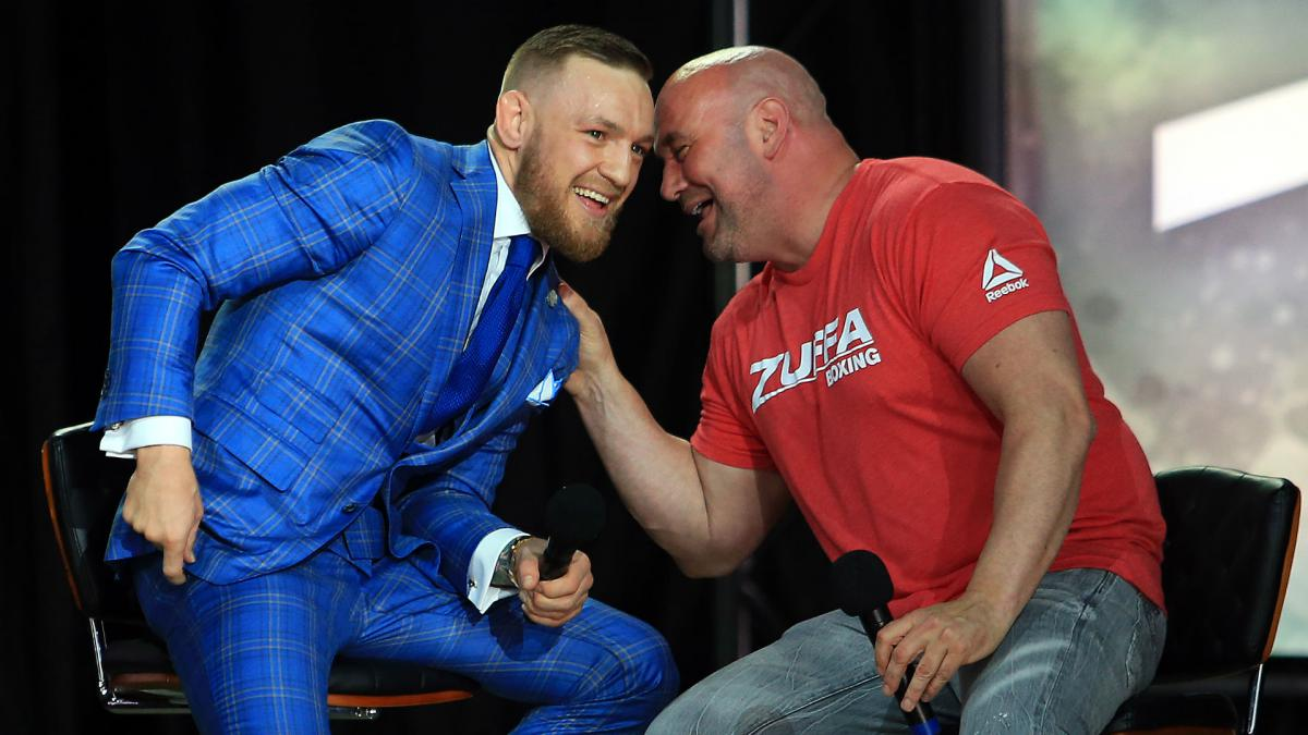 UFC president Dana White says Conor McGregor won't fight in 2020 - THE SPORTS ROOM