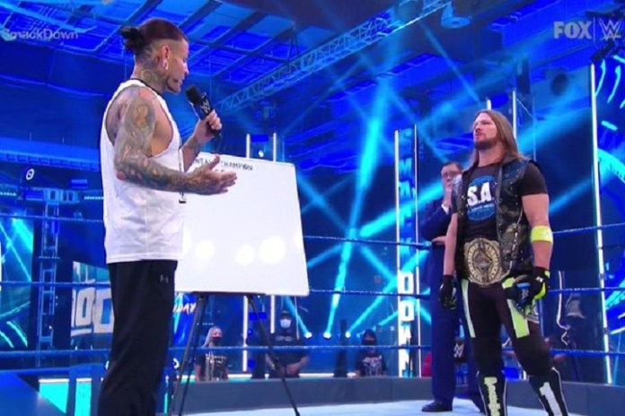Marker-Gate: Story about a permanent marker and Joseph Parks's apology to AJ Styles - THE SPORTS ROOM