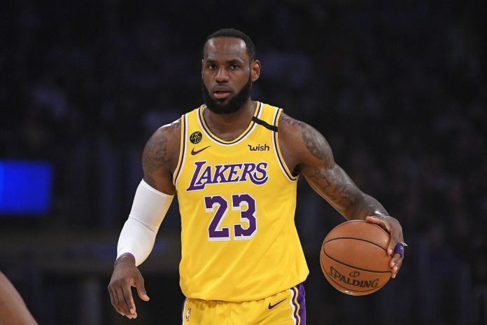 Lebron James and the Lakers face Portland on Tuesday.