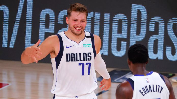Doncic scored most points in an NBA playoff debut.
