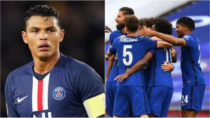 PSG veteran Thiago Silva closing in on a switch to Chelsea - THE SPORTS ROOM