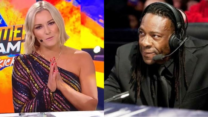Renee Young Booker T