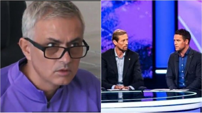 'F*** off': Watch Jose Mourinho's hilarious reaction after watching TV pundits in new Spurs doc - THE SPORTS ROOM