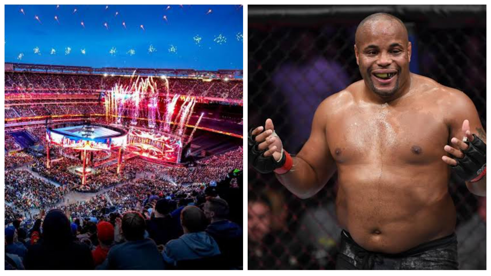 Daniel Cormier has WWE in his sights! - THE SPORTS ROOM