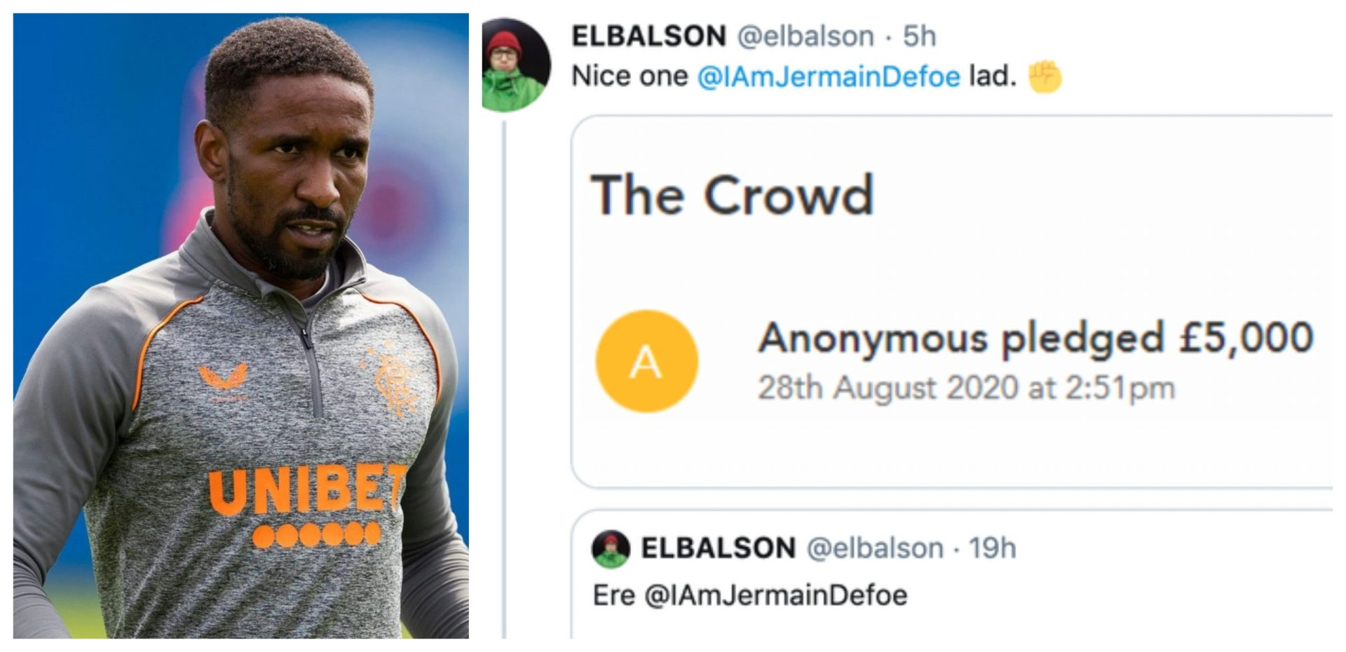 Yours Anonymously: Jermain Defoe behind the mysterious £5,000 donation to Wigan Athletic? - THE SPORTS ROOM