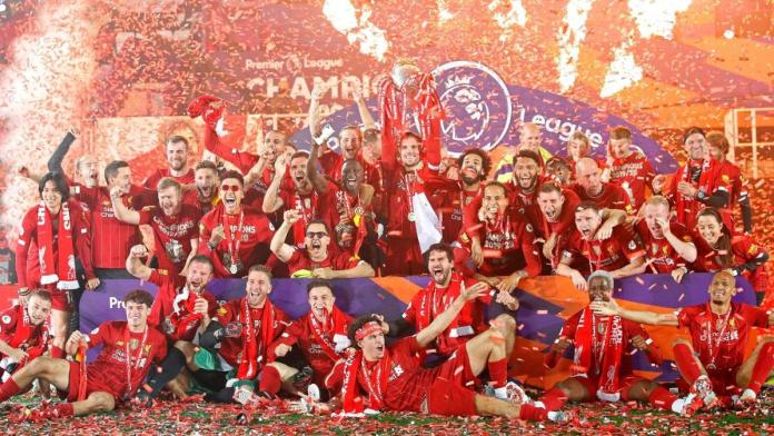 The champions of England in 2019-20, Liverpool.