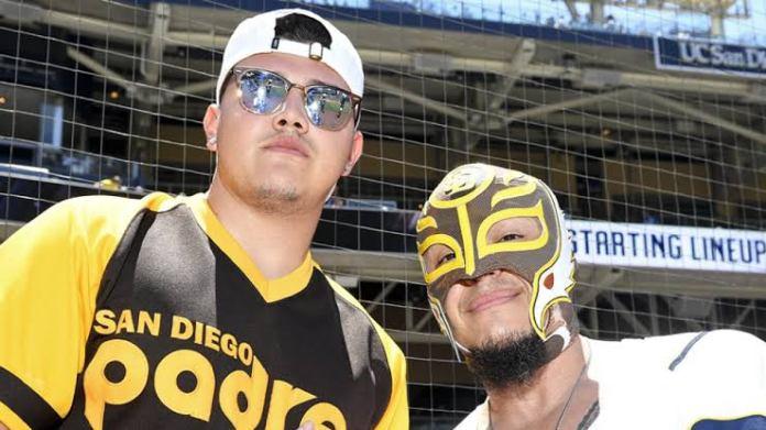 Dominik and Rey Mysterio