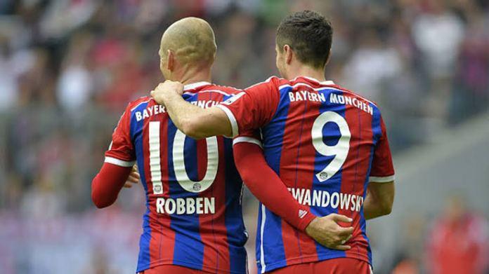 Ex-Bayern star Arjen Robben's message to Robert Lewandowski before PSG clash - THE SPORTS ROOM