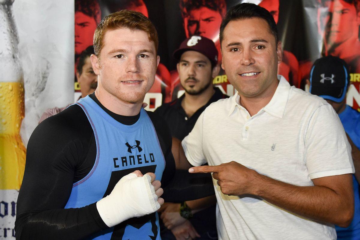 Canelo Alvarez sues Oscar De La Hoya and DAZN - THE SPORTS ROOM