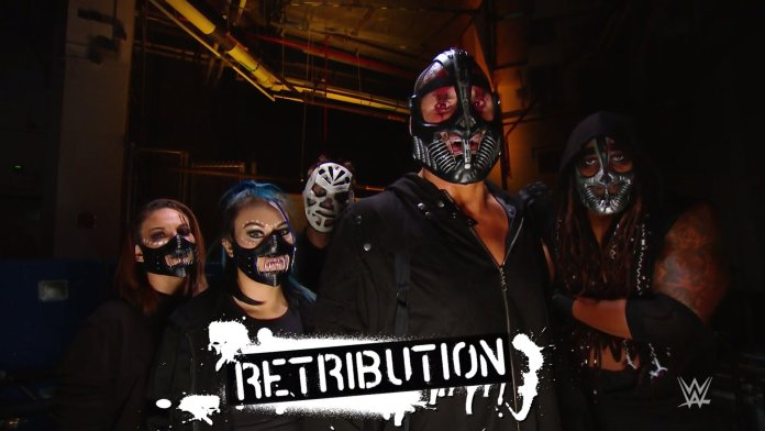 Mace, T-Bar and Slapjack- 3 RETRIBUTION members receive names on RAW - THE SPORTS ROOM