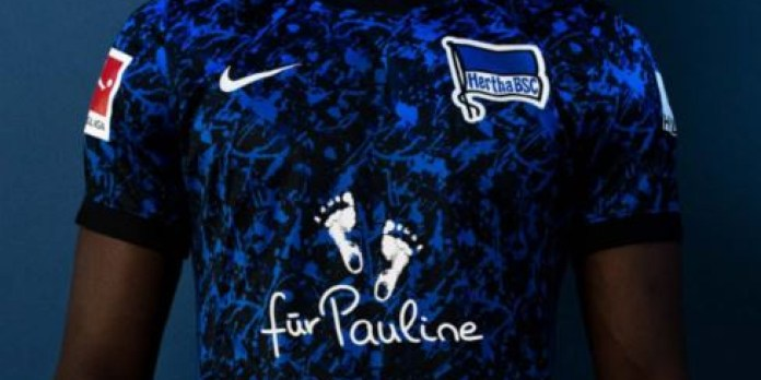 Here's why Hertha BSC's jersey in the next match will have 'für Pauline' written on it - THE SPORTS ROOM