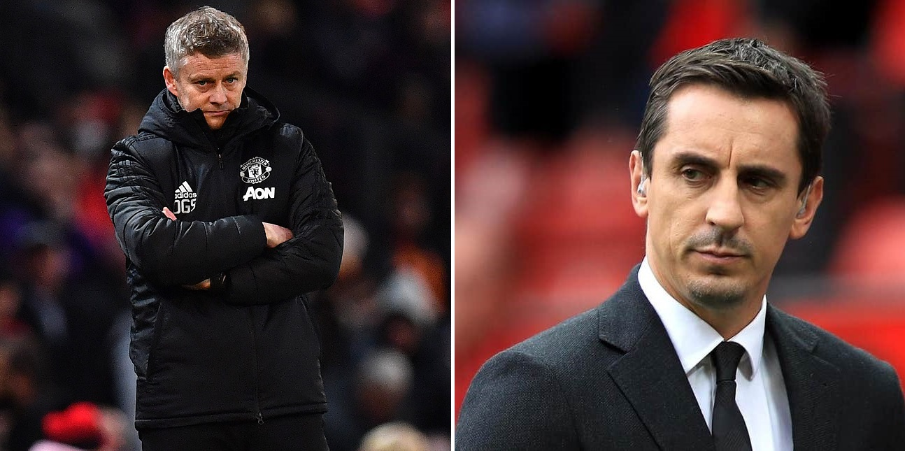 Gary Neville names 3 positions Manchester United need to focus on before deadline day - THE SPORTS ROOM