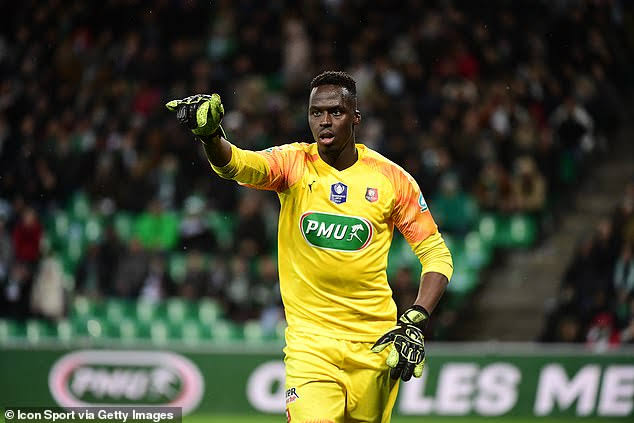Chelsea close to sealing £25m move for goalkeeper Edouard Mendy from Rennes. - THE SPORTS ROOM