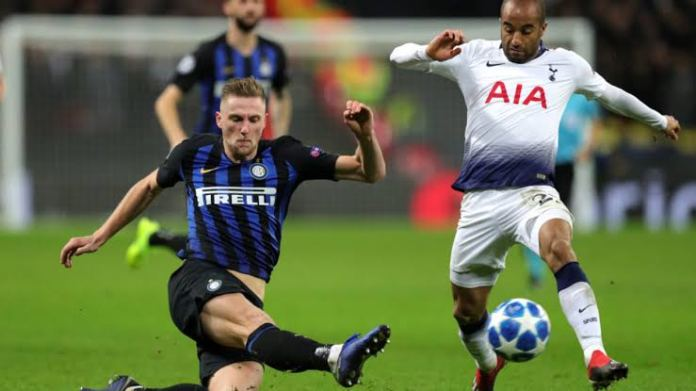 Inter Milan centre back Milan Škriniar is linked with Tottenham - THE SPORTS ROOM