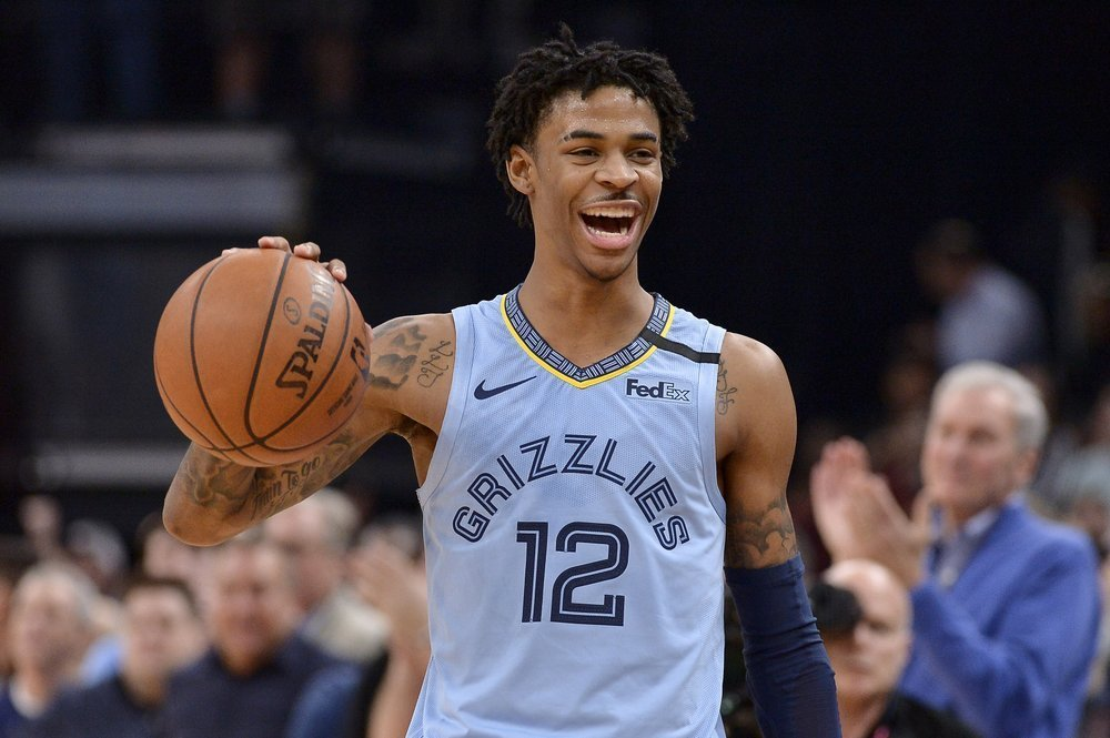 Ja Morant wins 2019-20 Rookie of the Year - THE SPORTS ROOM