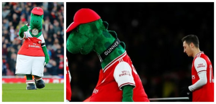 Evading Extinction: Mesut Ozil steps in with a noble gesture to save Gunnersaurus - THE SPORTS ROOM