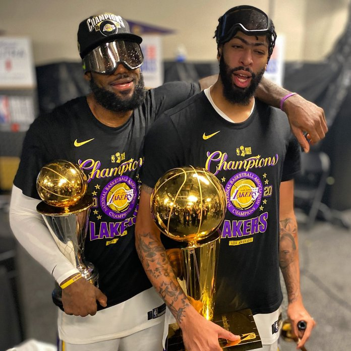 NBA Finals: Lakers trounce Heat 106-93 in Game 6 to win 17th NBA championship - THE SPORTS ROOM