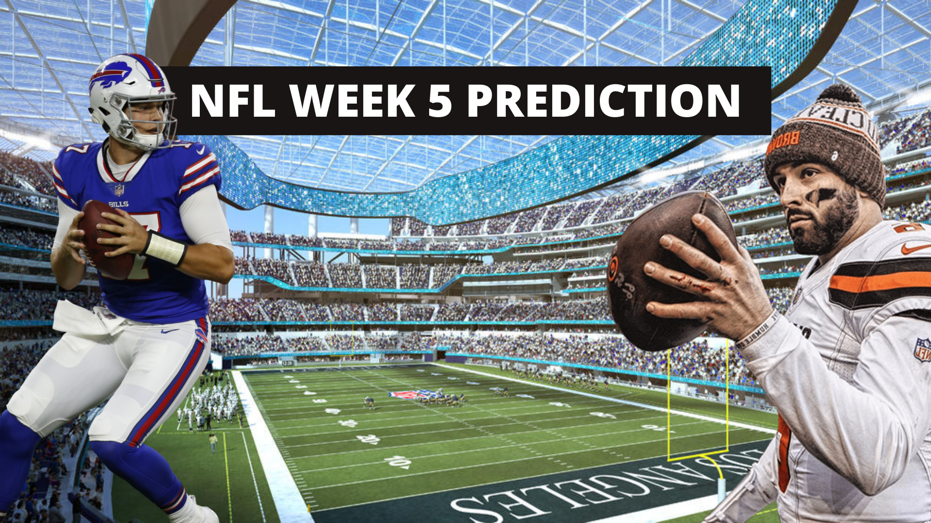 NFL Week 5 betting odds, predictions and expert picks - THE SPORTS ROOM