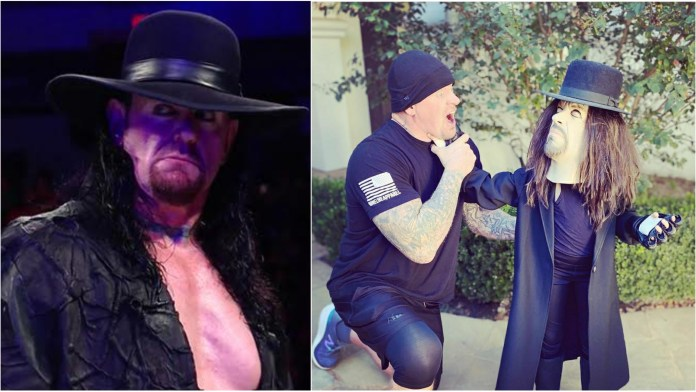 Like father, like daughter: The Undertaker's 8-year-old daughter picks her dad for Halloween costume - THE SPORTS ROOM