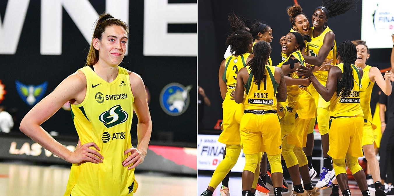 From COVID-19 to social injustice, the hurdles Breanna Stewart and her team overcame to taste WNBA Finals glory - THE SPORTS ROOM
