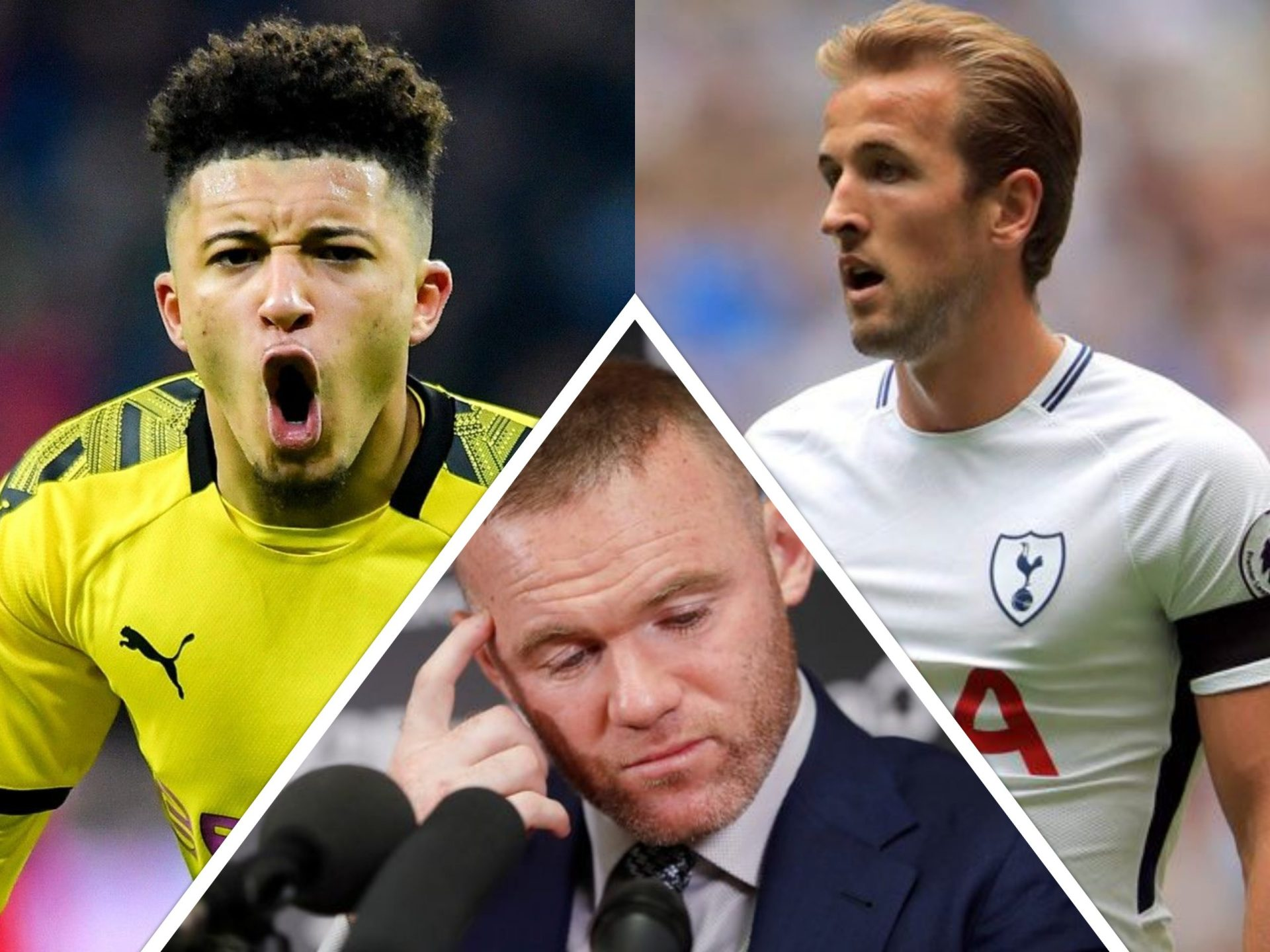 """We need a genuine number 9"": Rooney wants Man Utd to prioritize Kane over Sancho - THE SPORTS ROOM"