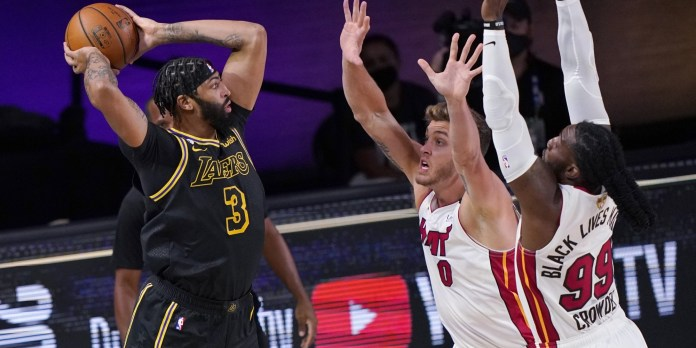 NBA Finals: LA Lakers go 2-0 up with second victory over Miami Heat in Game 2 - THE SPORTS ROOM