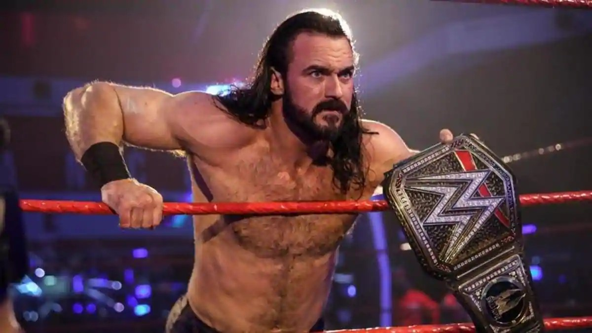 Stay behind your desk grandpa: Drew McIntyre responds to Wade Barrett's taunt of a rematch - THE SPORTS ROOM