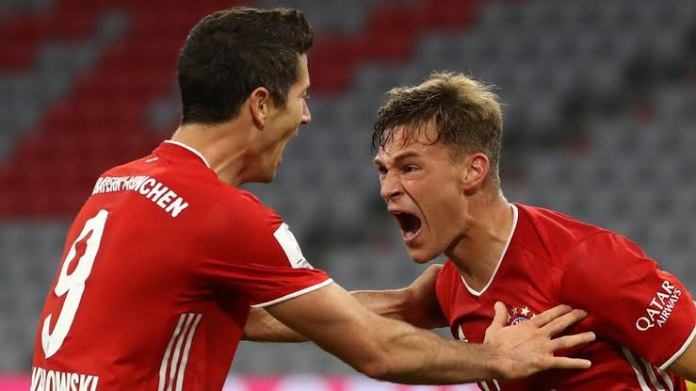 Watch: Floor-finish from Joshua Kimmich as Bayern clean up Dortmund 3-2 in DFL-Supercup - THE SPORTS ROOM