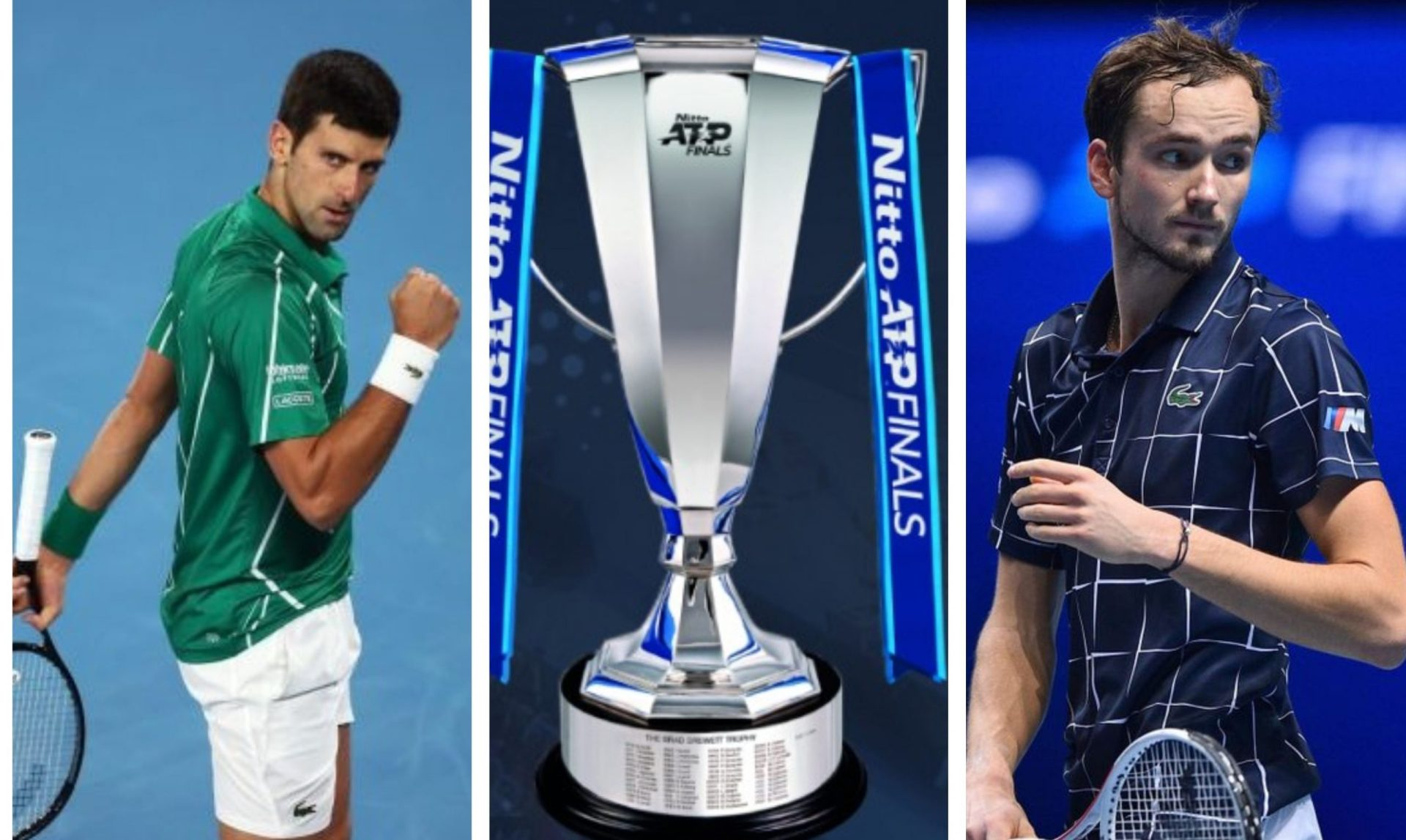 ATP Finals 2020:Djokovic outclasses Schwartzman,Medvedev crushes Zverev - THE SPORTS ROOM