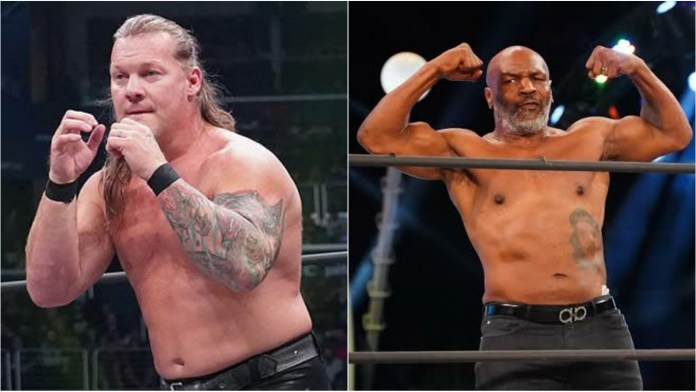 Chris Jericho opens up on his desire of boxing Mike Tyson in AEW - THE SPORTS ROOM