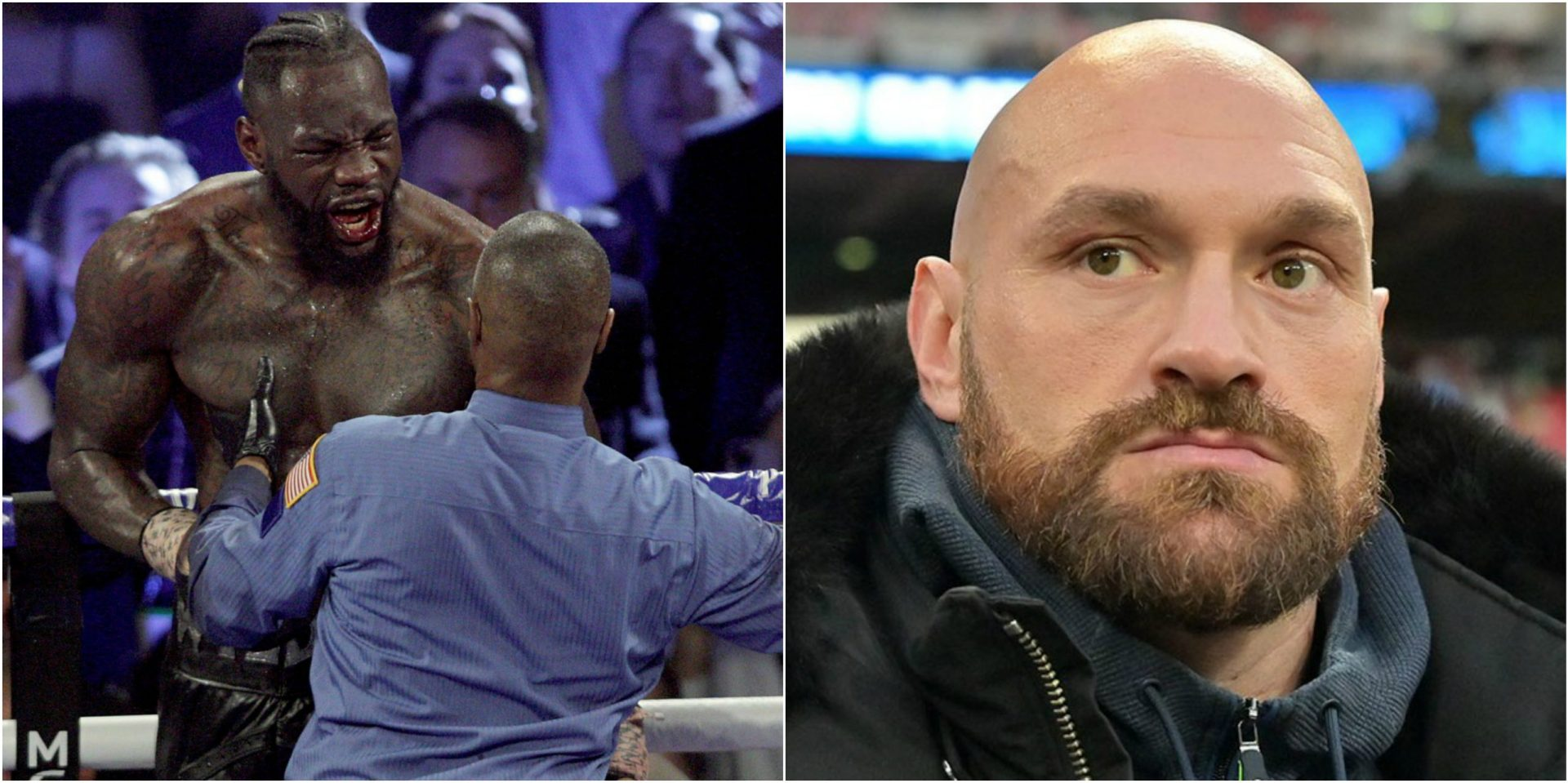 Tyson Fury responds to Deontay Wilder accusing him of cheating - THE SPORTS ROOM