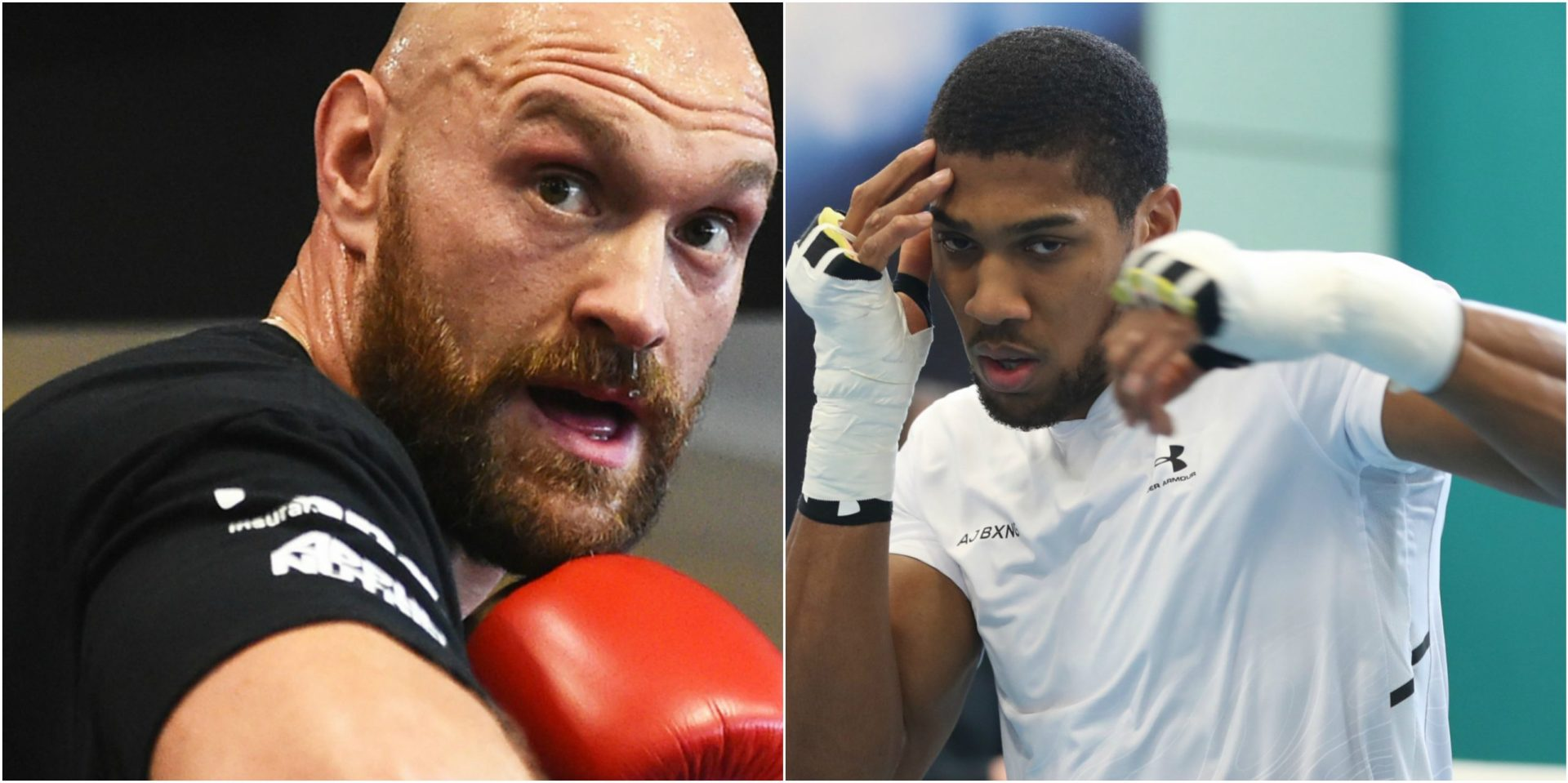 BREAKING: Tyson Fury and Anthony Joshua have signed a 2-fight unification deal! - THE SPORTS ROOM