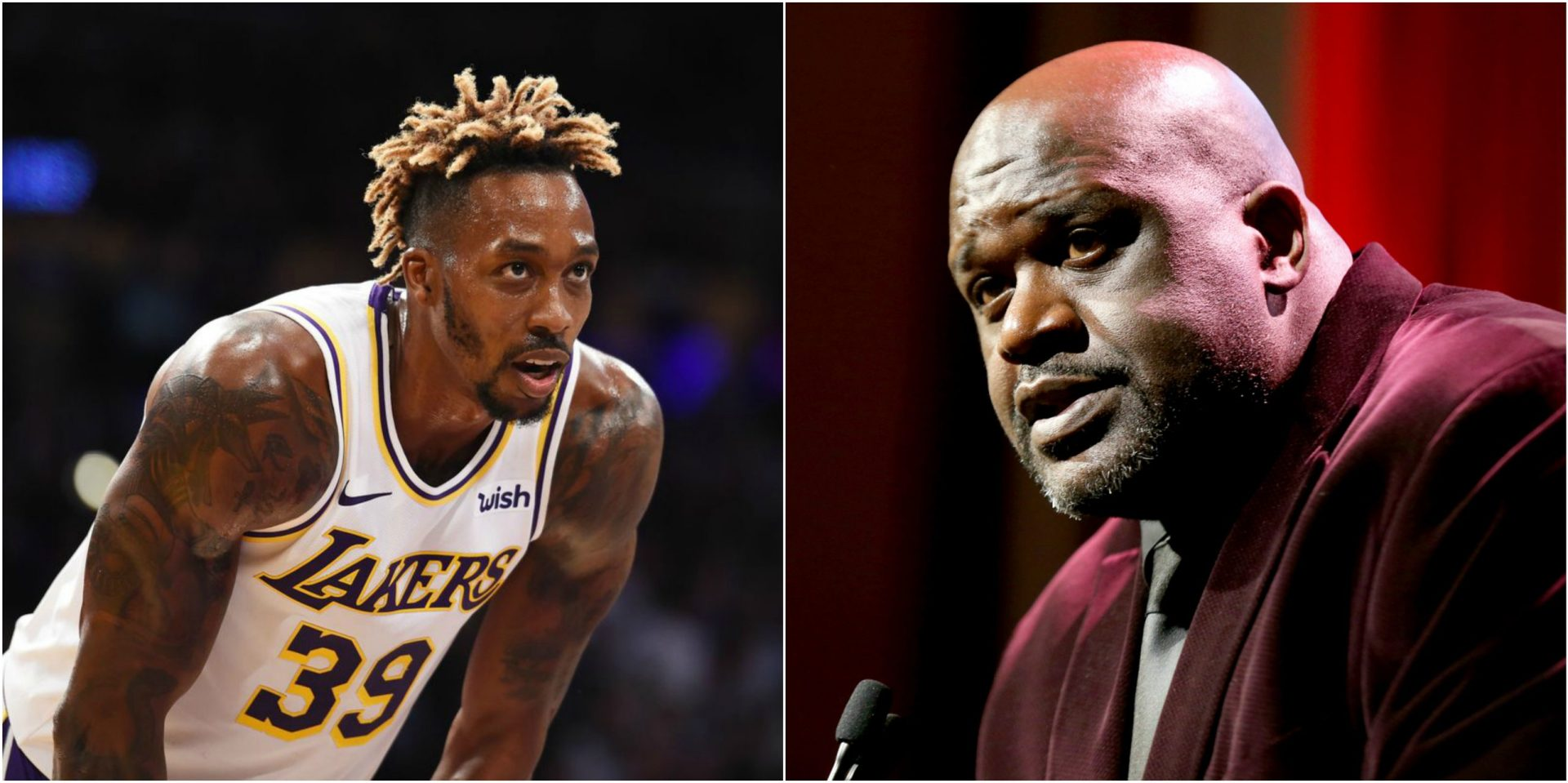 Dwight Howard responds to Shaq following criticism - THE SPORTS ROOM
