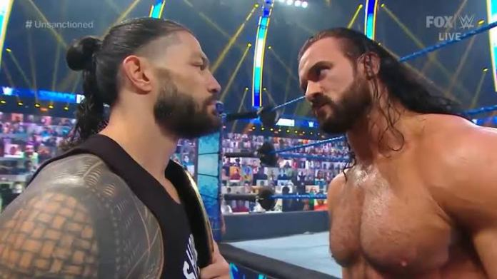Drew McIntyre has a message for Roman Reigns following WWE Championship win - THE SPORTS ROOM