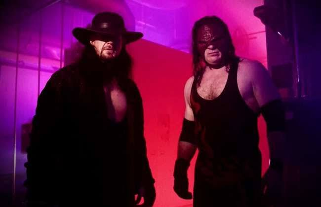 Kane picks his three favourite matches of The Undertaker - THE SPORTS ROOM