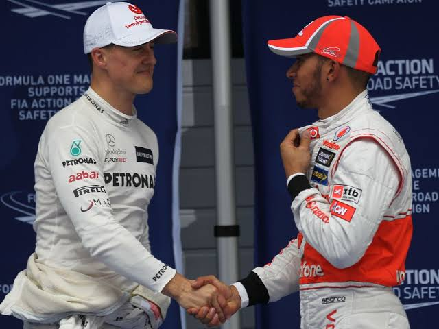 Schumacher vs Hamilton: a comparison that Charles Leclerc is not too fond of - THE SPORTS ROOM